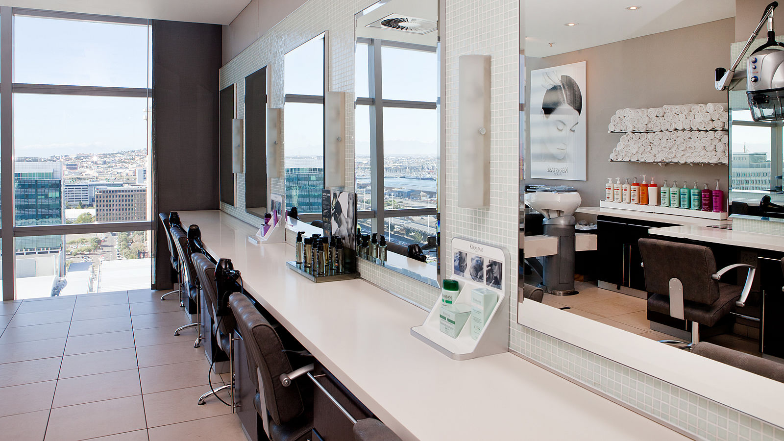 Cut Above Hair Salon at The Westin Cape Town: counter