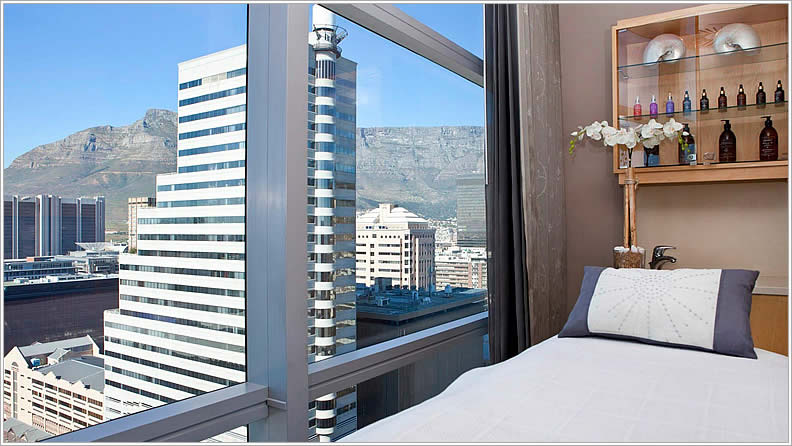 Heavenly Spa by Westin overlooking Table Mountain