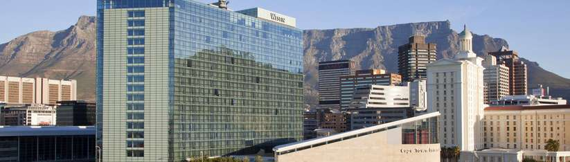 Westin Cape Town with view of Table Mountain