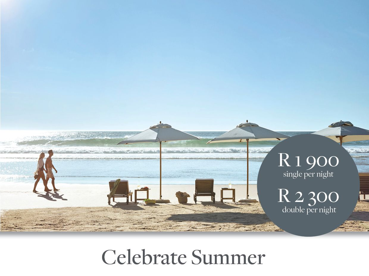 Westin Cape Town Accommodation Offer Celebrate Summer Package