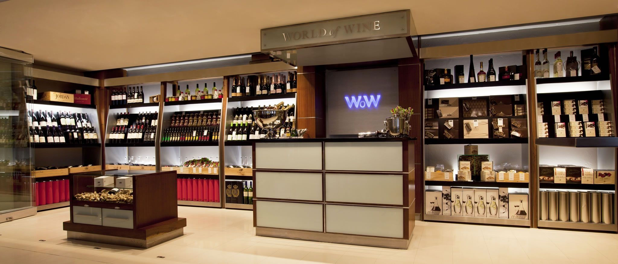 The Westin Cape Town, World of Wine Shop on Ground Floor